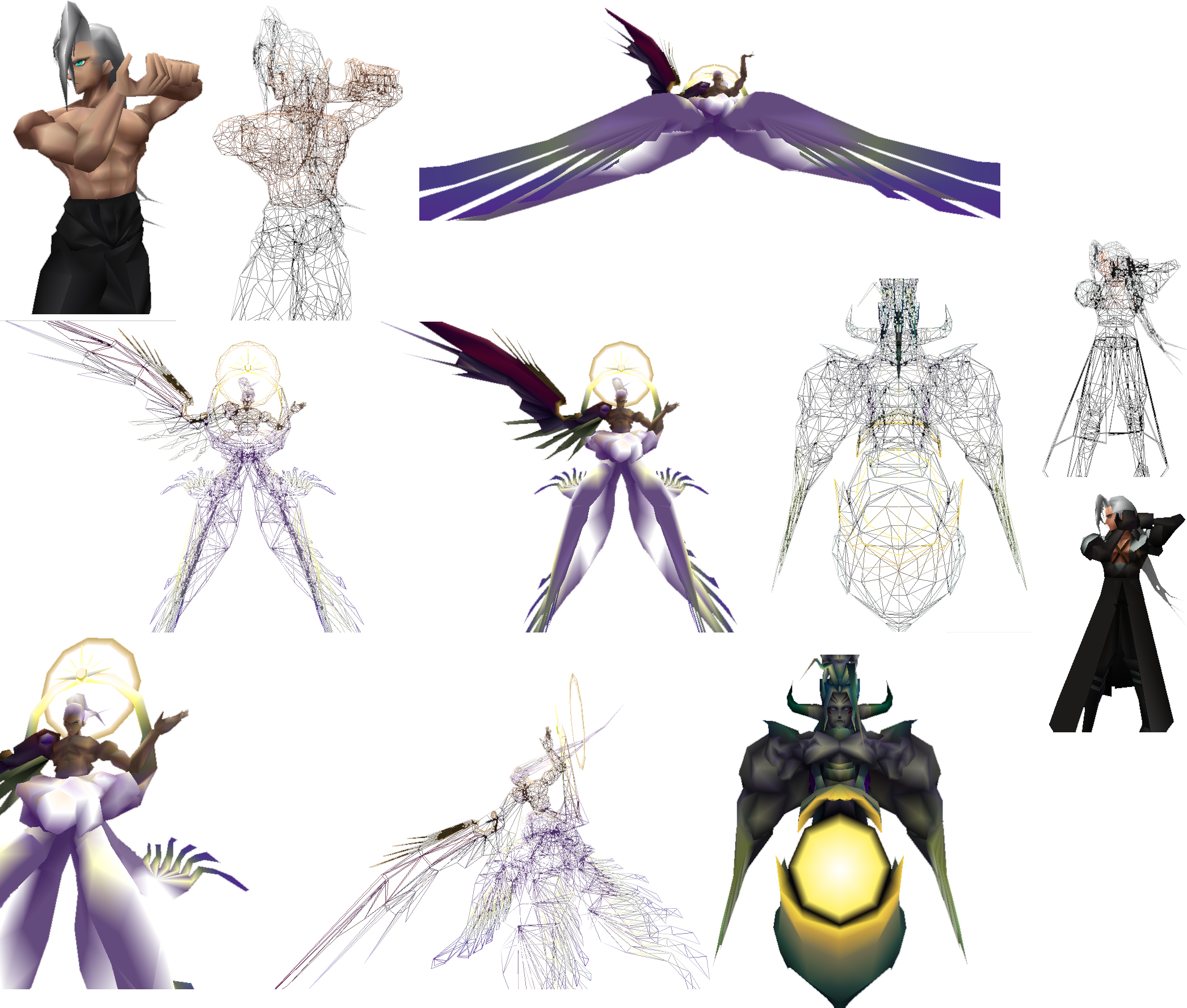 Sephiroths From My Ff7 Remake By Joshua090909 On Deviantart