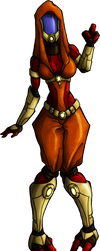 Mass Effect OC: Ronya'Lai by admiral-squee