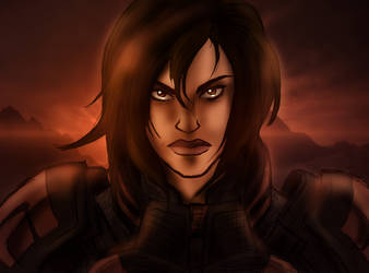 practice: femshep 2 by admiral-squee