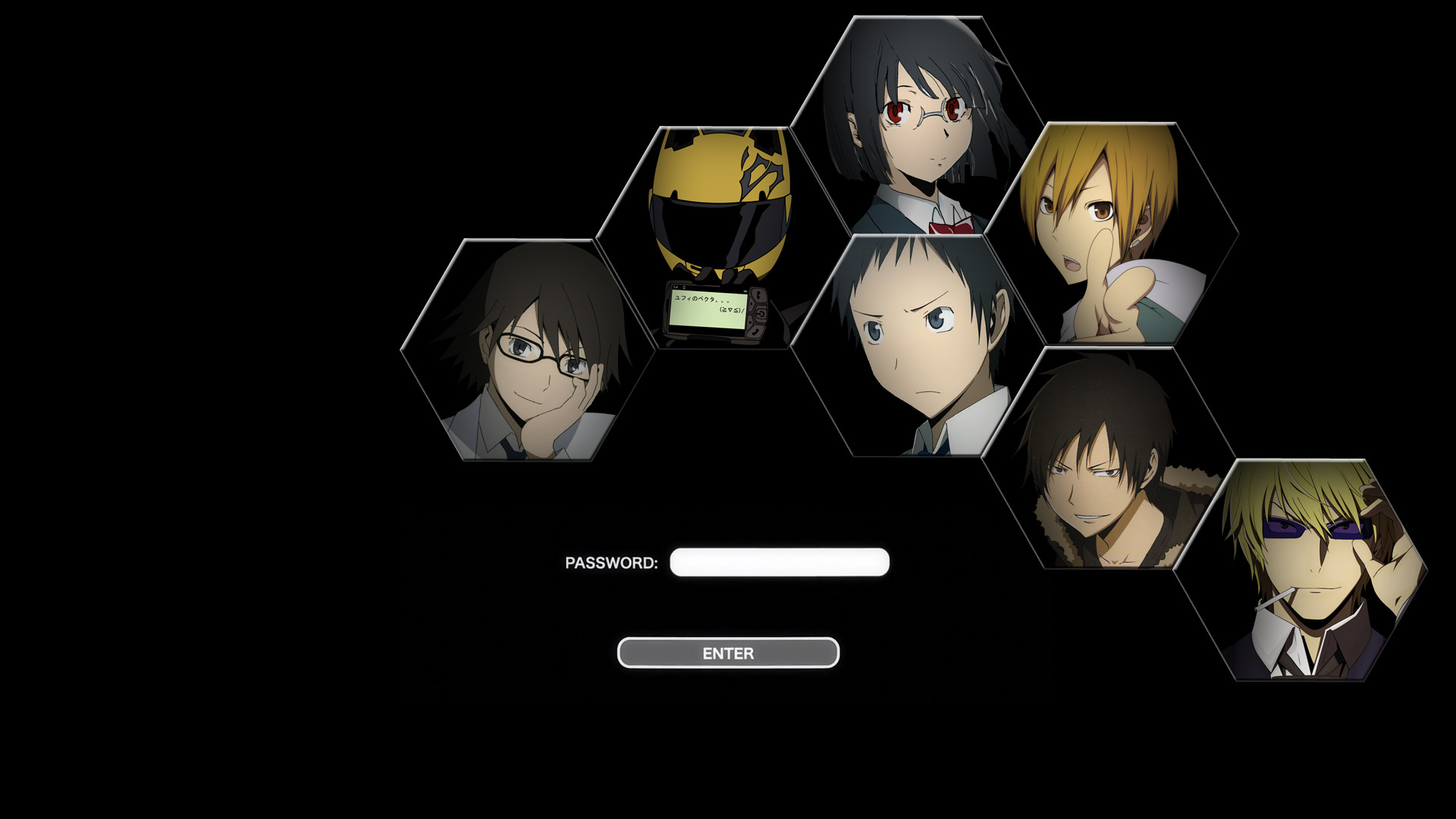 durarara wallpaper by bankaii94 on deviantart