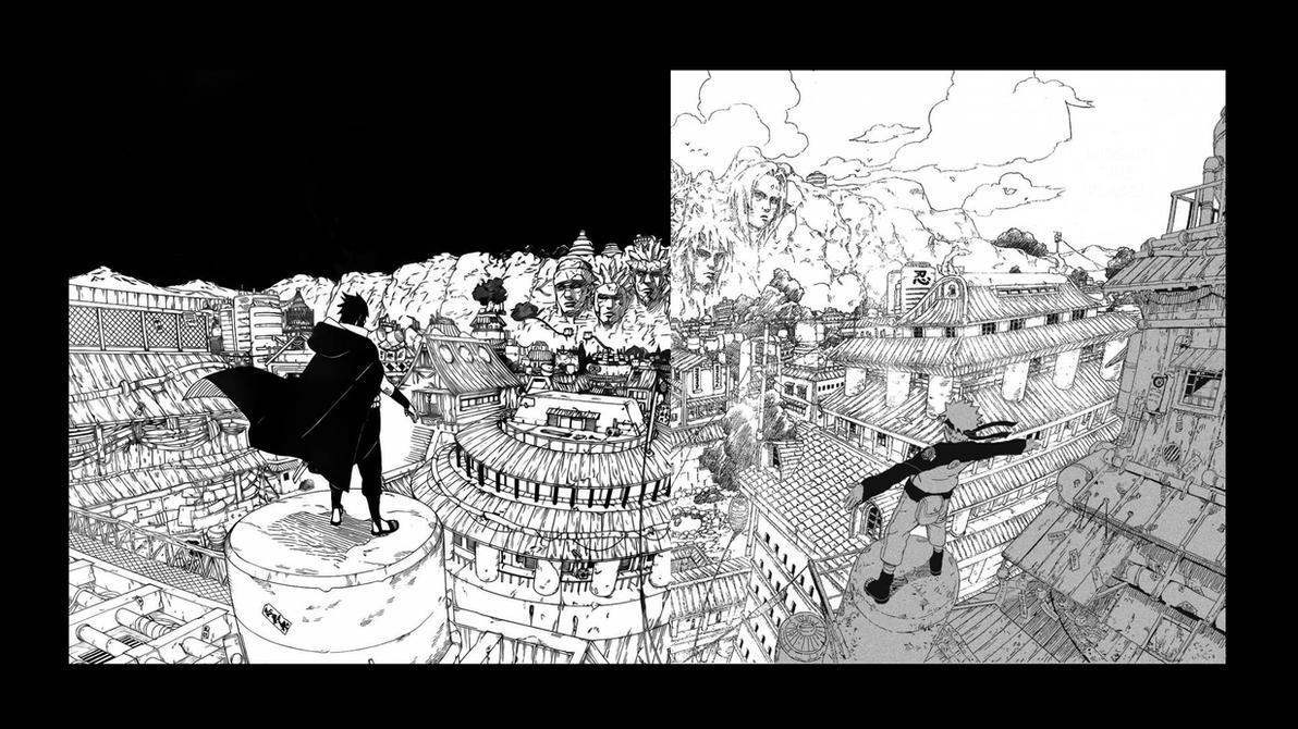 Naruto and Sasuke's Return to Konoha by Bankaii94 on ...