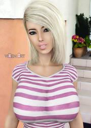 Courtney Clark - Extra 2 by prizm1616
