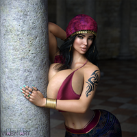First Wife Megan [Harem Commission]