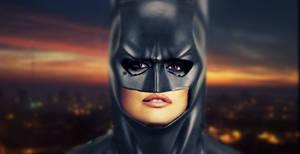 Penelope Cruz in Batcowl
