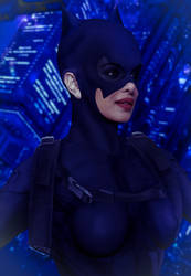 Catwoman Priyanka 2 by BLuLIvE