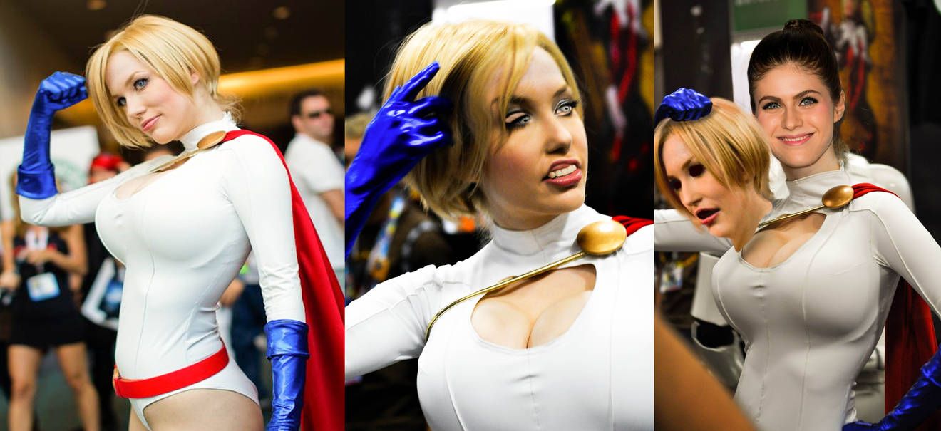 Alexandra's Powergirl Cossplay by BLuLIvE