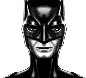 Sandra Bullock Batwoman sketch