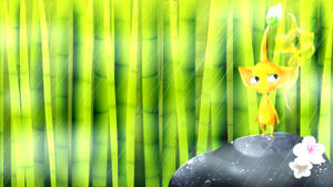 Adventure into a bamboo forest + Speed paint