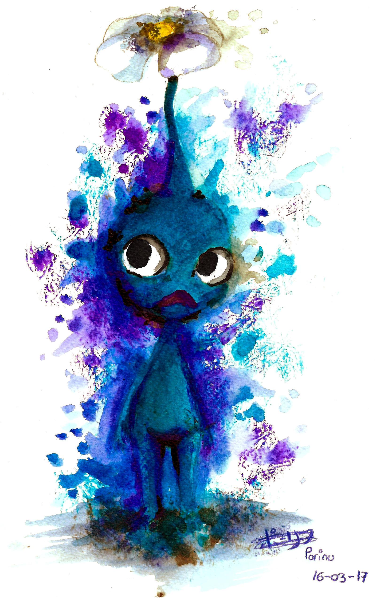 Inky Blue Pikmin