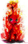 Inky Red Pikmin