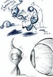 Pikmin action doodle