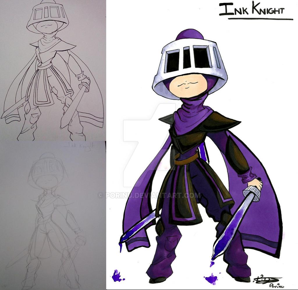 [OC] Ink Knight