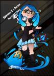Splatoon - Porinu - Serial Killeuse V.blue