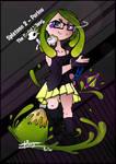 Splatoon - Porinu - Serial Killeuse V.green