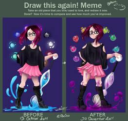 Porinu - Before and after meme by Porinu