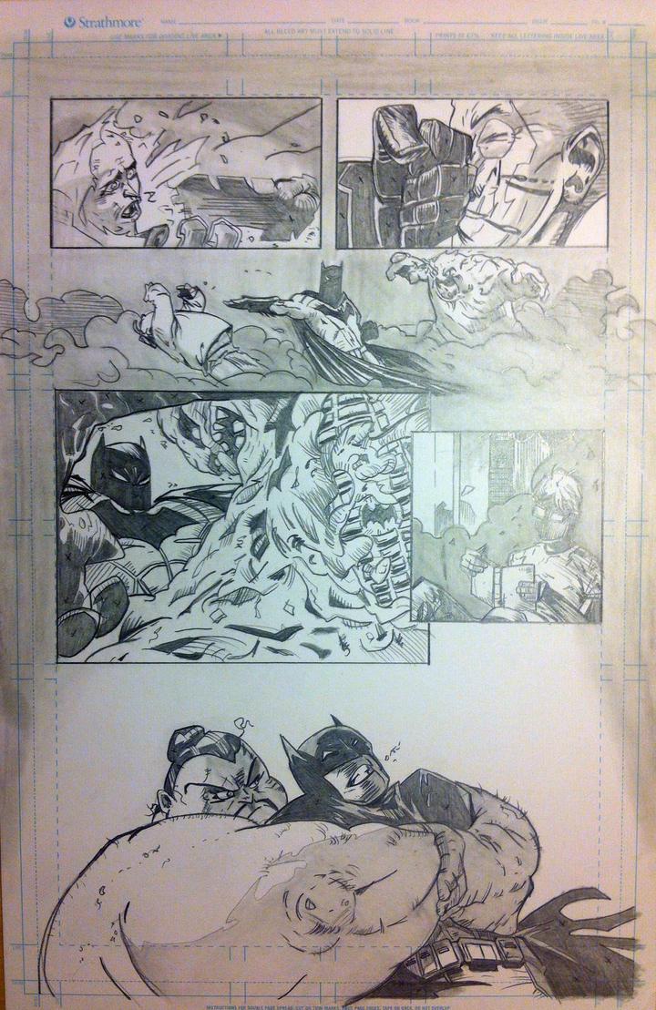 Batman Pencils Page 2 by Stryker224