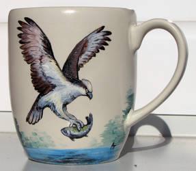 Osprey cup by akelataka