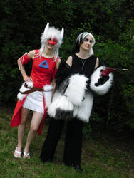 Cruella de Vil and Latias