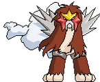 Entei Animation