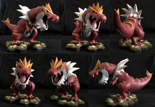 Tyrantrum 3D Printed Figure
