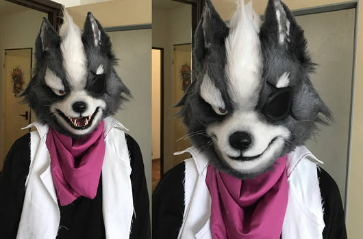 Wolf O'Donnell's head