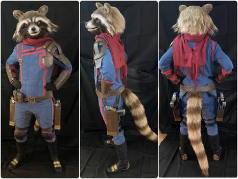 Rocket Raccoon Cosplay