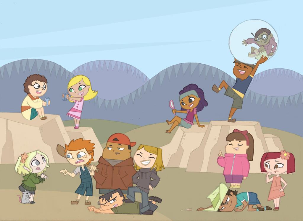 Total Drama Zoey And Dawn: Tdroti Cast Kids By Kikaigaku On DeviantArt