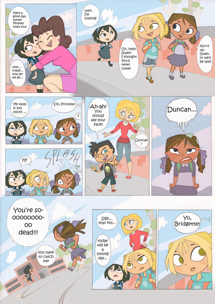 Total drama kids comic by Kikaigaku