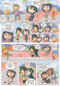 Total drama kids comic pag 2