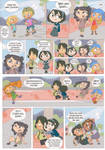 Total drama kids comic pag 2