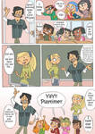 Total drama kids comic pag 4