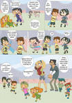 Total drama kids comic pag 7