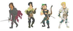 Total Drama Fantasy (boys)