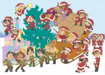 Merry Christmas from TD Kids! by Kikaigaku