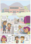 Total drama kids comic pag 14