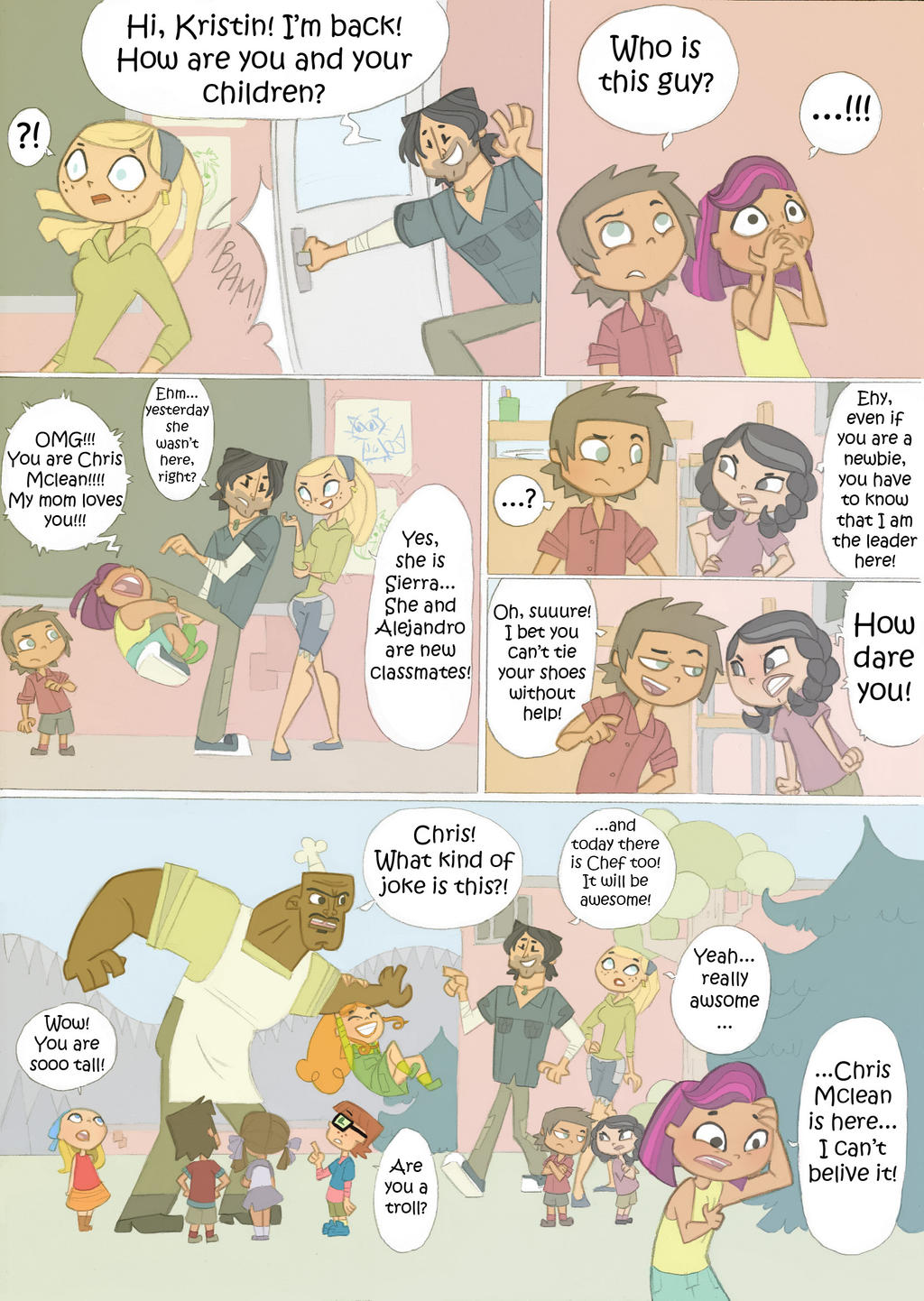 Total drama kids comic Pag 16 by Kikaigaku on DeviantArt