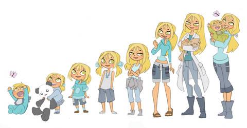 Bridgette's Timeline by Kikaigaku