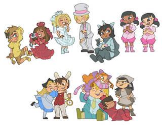 School play costumes by Kikaigaku