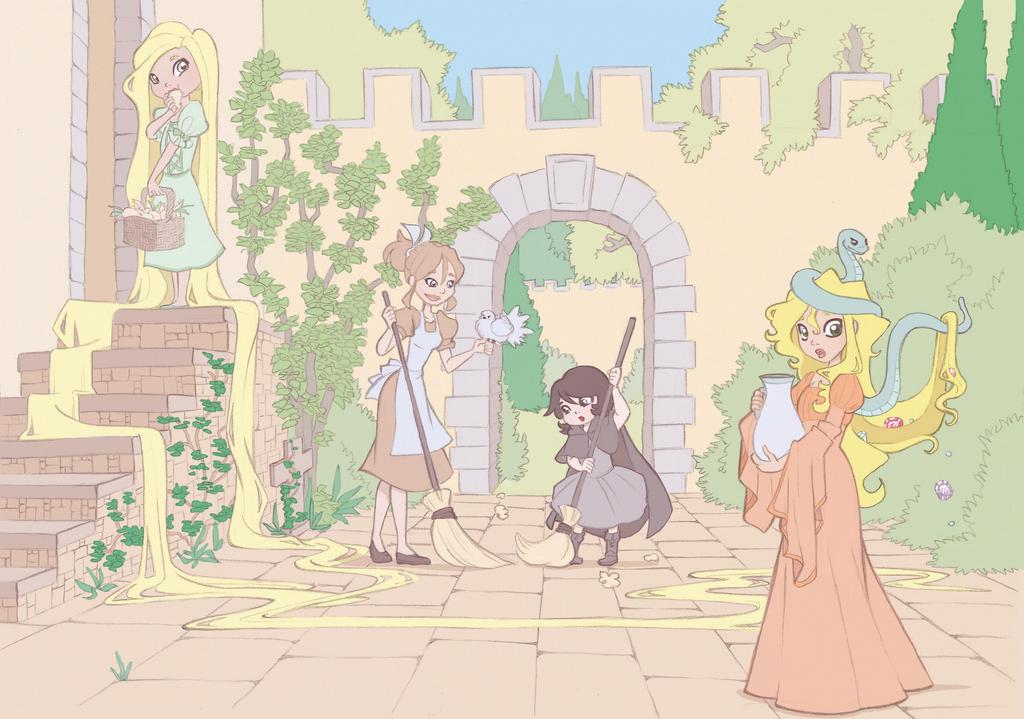 A Fairytale's World by kikaigaku
