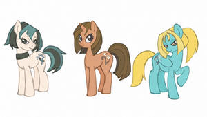 Total drama in My little pony style