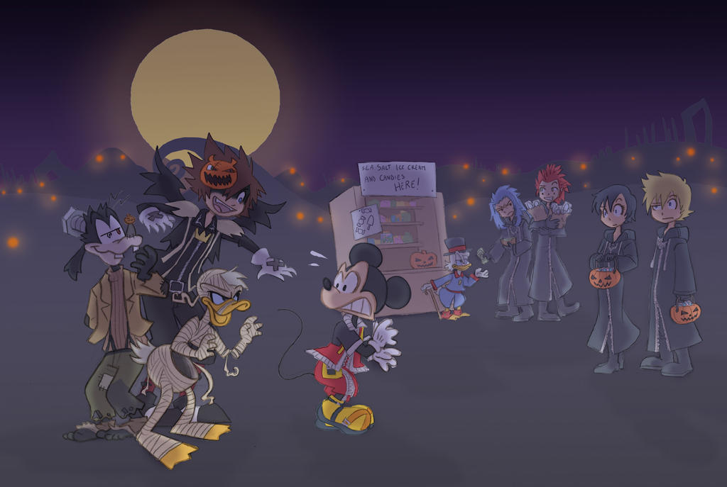 Happy Halloween! by kikaigaku