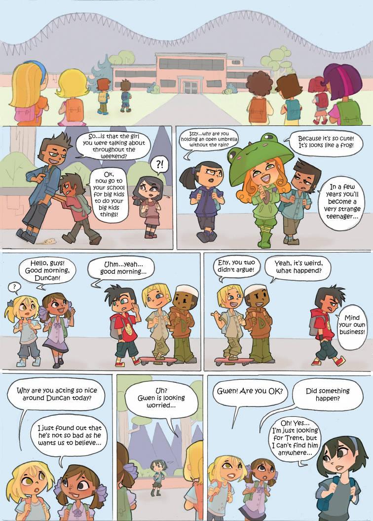 Total Drama Kids Comic pag 31 by Kikaigaku