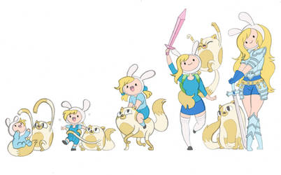 Fionna and Cake Timeline