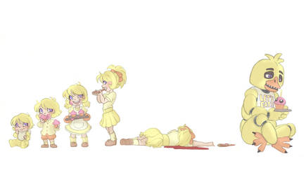 Chica Timeline by Kikaigaku