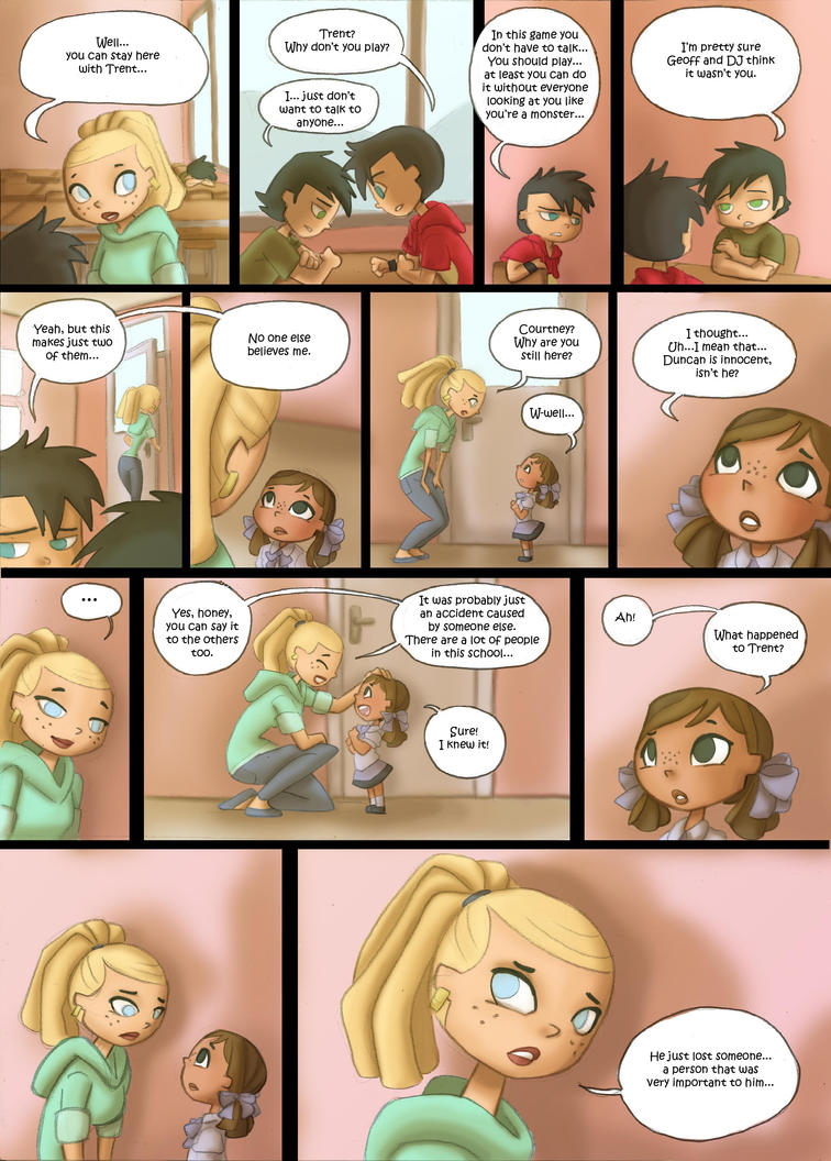 Total Drama Kids Comic pag 40 by Kikaigaku