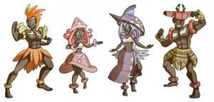 Guardian deities