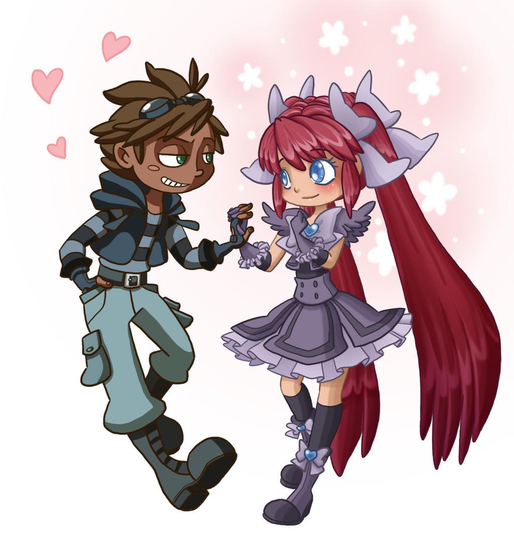 Love Story between Manga and Cartoon by Kikaigaku