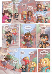 Total drama kids comic 2.0 Pag 1 by Kikaigaku