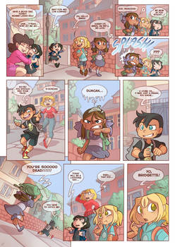 Total drama kids comic 2.0 Pag 1