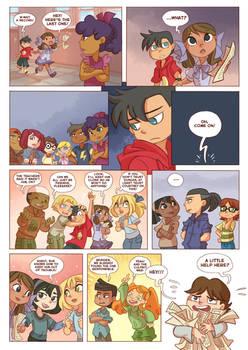 Total drama kids comic pag 49